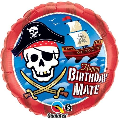 Μπαλόνι για γενέθλια Πειρατικό Καράβι 'Happy Birthday Mate'