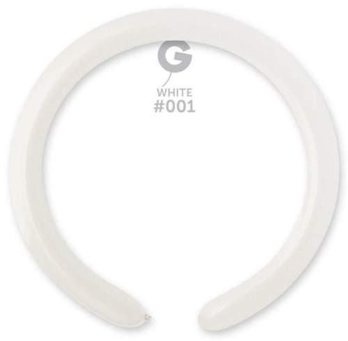 Μπαλόνι κατασκευής μακρόστενο 260 λευκό