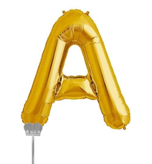 Μπαλονι 40 εκ Χρυσό Γράμμα Α