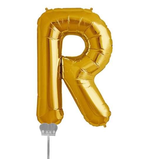 Μπαλονι 40 εκ Χρυσό Γράμμα R