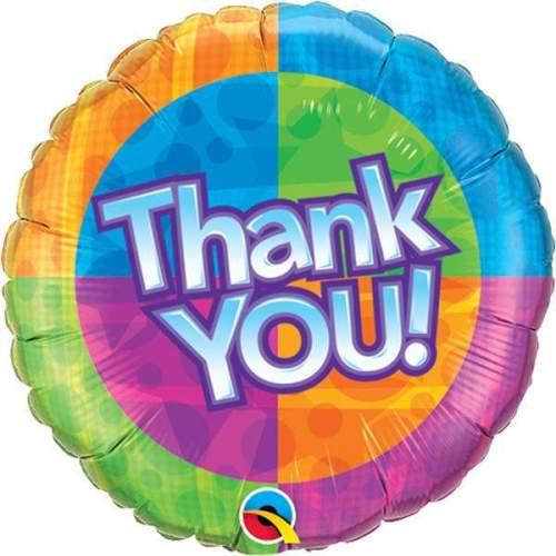 Μπαλόνι Thank You πολύχρωμο
