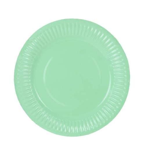 Πιάτα πάρτυ μικρά βεραμάν (6 τεμ)