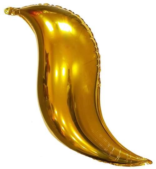 Μπαλόνι Xρυσό Swirling S