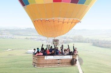 Volo in mongolfiera sul Chianti