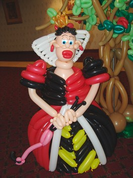 Queen of hearts from alice in wonderland 2