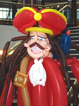 Balloon Pirate sculpture