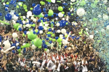 IRCA 2016 balloon drop at the Sears Centre - Balloons by Tommy