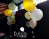 Gatsby balloon bouquets at Morgan MFG in Chicago - Balloons by Tommy