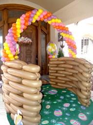 easter balloons arch denver