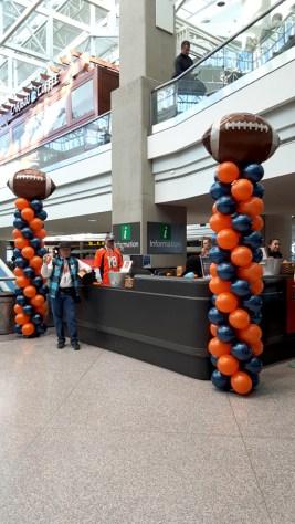 broncos balloons denver airport