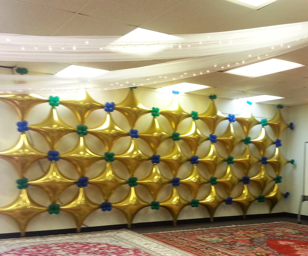Starpoint Lg Foils Wall - Balloons & Party Decorations