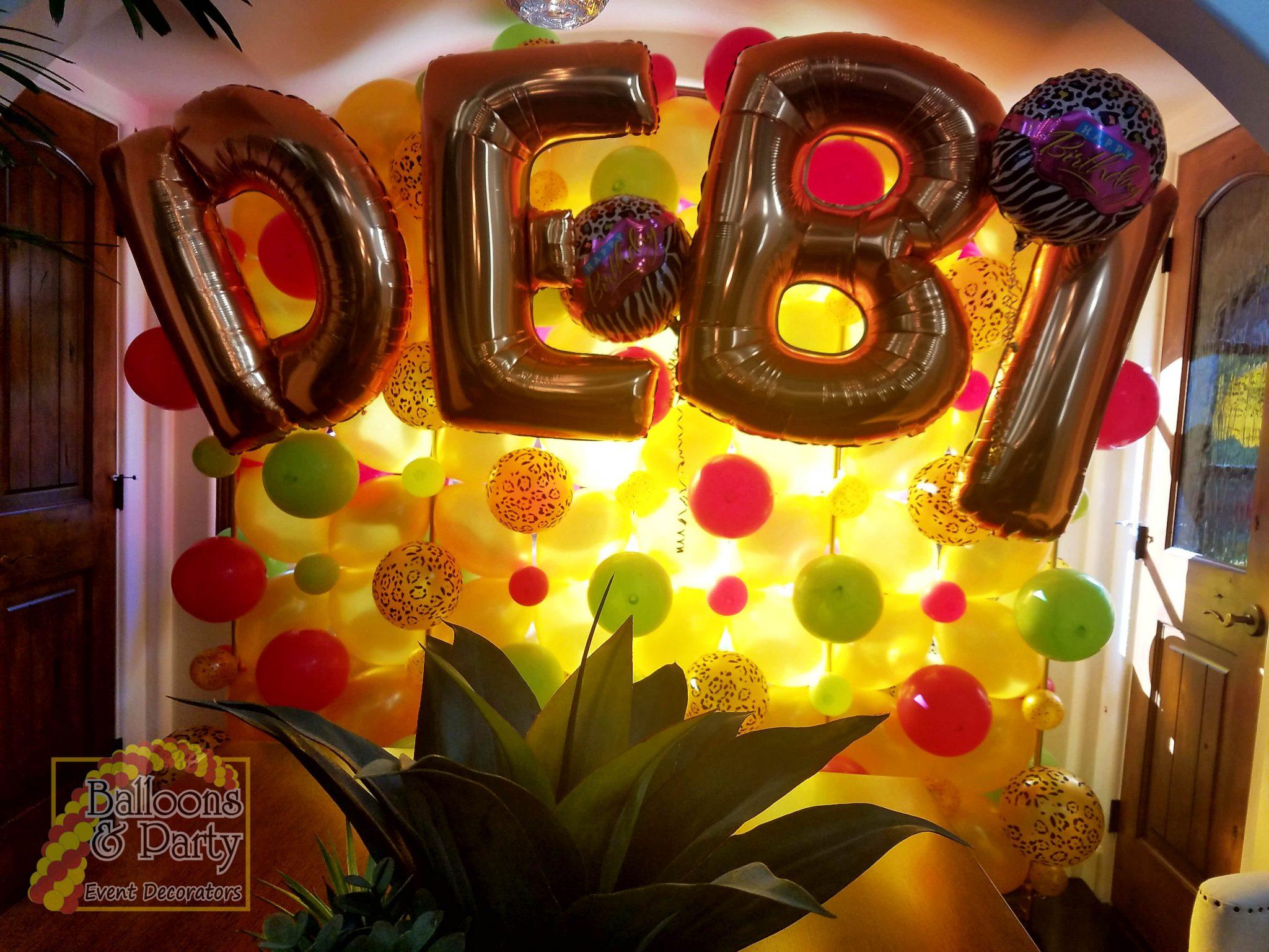 Balloon Walls-Backdrop Ideas - Balloons & Party Decorations