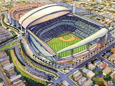 New Marlins Stadium, set to open in April 2011