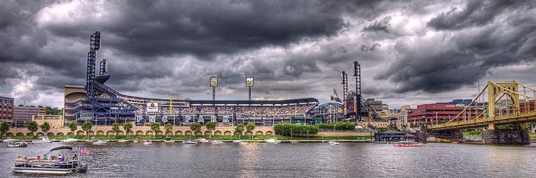 Stormy Panorama of PNC Park