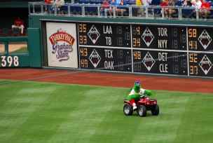 Phanatic at Citizens Bank Park