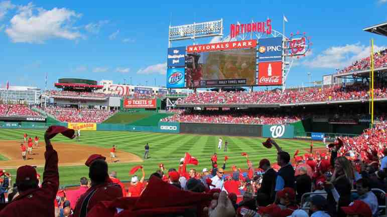 Sunny Day at Nationals Park