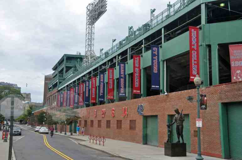 Ted Williams at Fenway Park