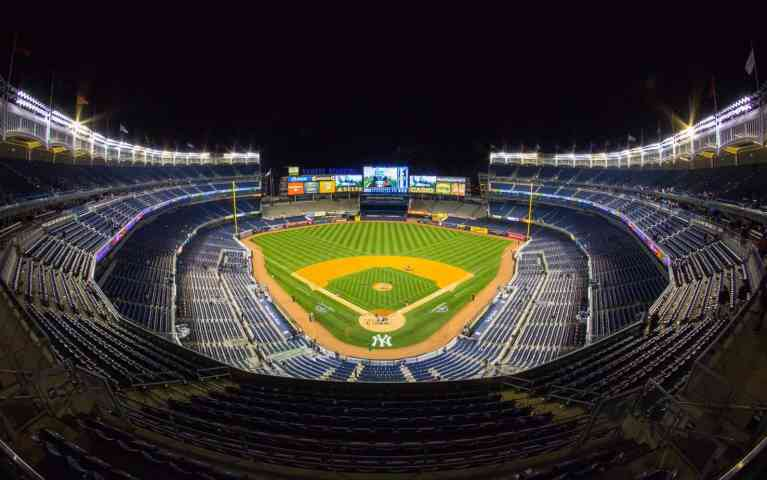 Seat View at Yankee Stadium