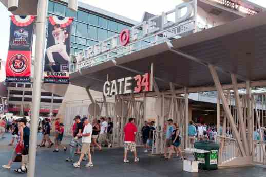 Gates of Target Field