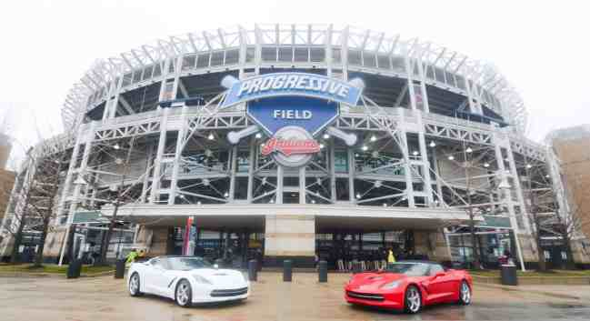Exterior of Progressive Field