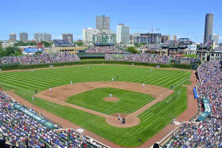 Sunny Day at Wrigley Field