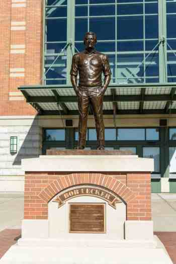 Bob Uecker Statue at Miller Park