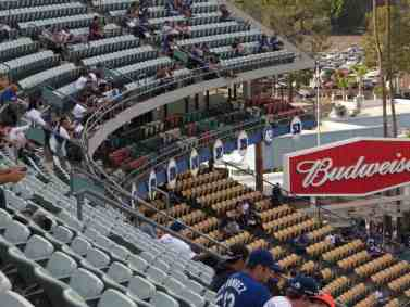 Numbers Inside Dodger Stadium