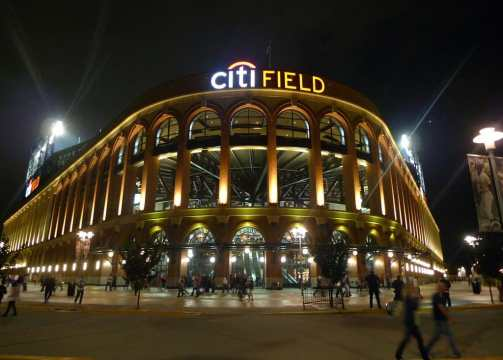 Exterior of Citi Field