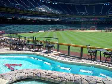 Pool at Chase Field