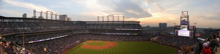 Rockpile Seats at Coors Field