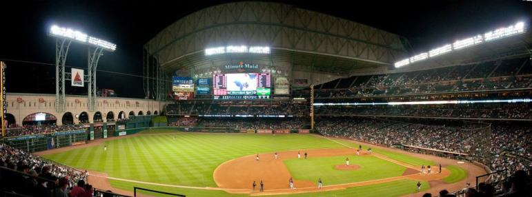 Seats at Minute Maid Park
