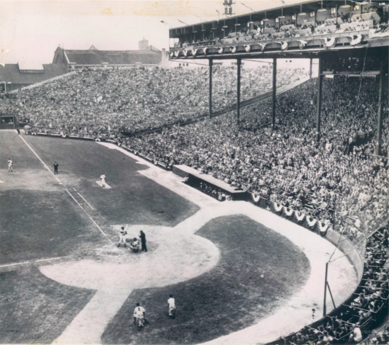 Braves Field History Photos And More Of The Boston
