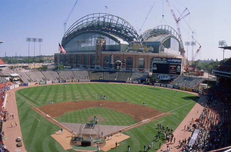 Image result for milwaukee county stadium