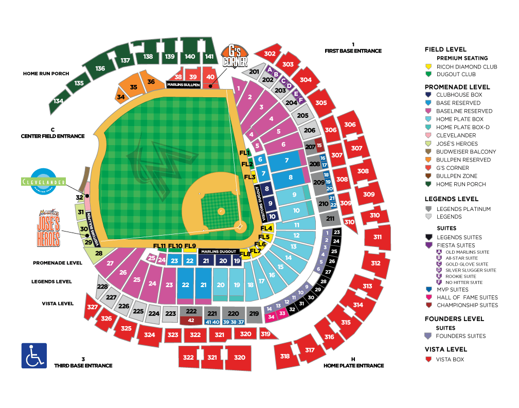 Comerica Park Seating Chart Concert | Wallseat.co