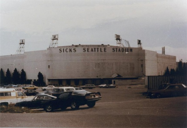 Sicks Stadium History Photos And More Of The Seattle