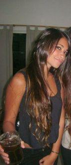 Antonella Roccuzzo Messi Frau 2