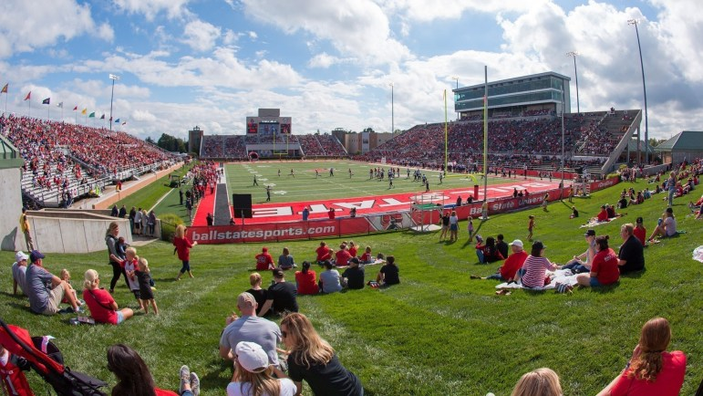 Image result for ball state homecoming football