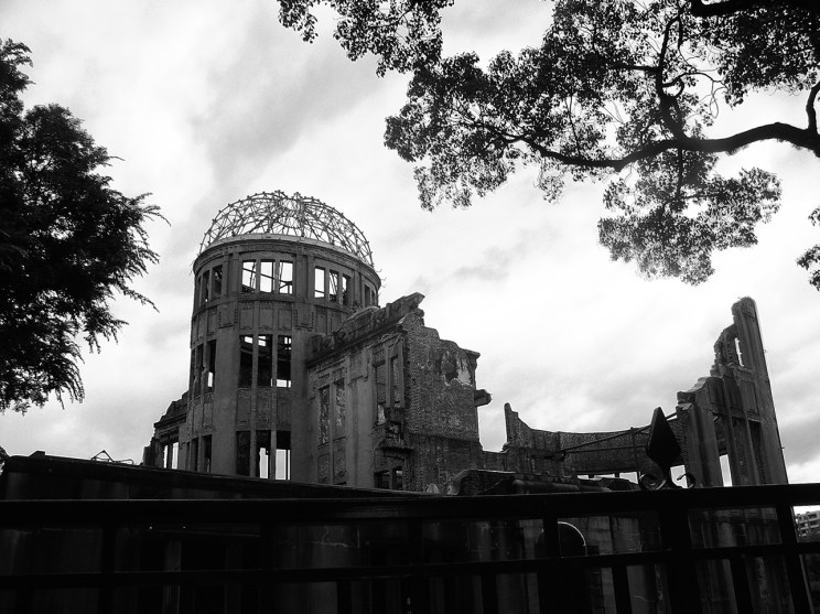 Genbaku Dome (原爆ドーム) - The leftovers after the nuclear strike.