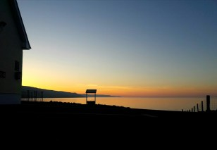 sunset Antrim Coast