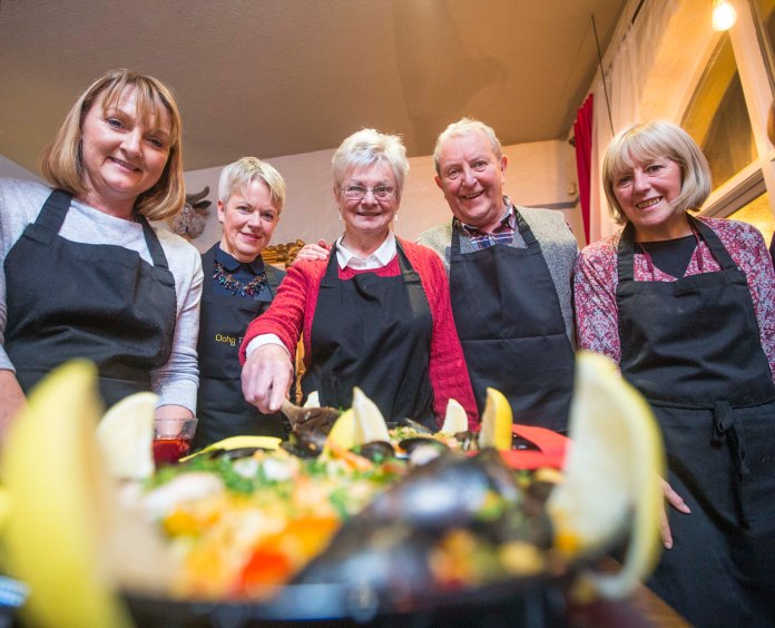 Pictured at a Tapas tasting evening in Portrush. PICTURE STEVEN MCAULEY