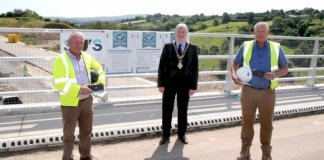 mayor-of-causeway-coast-and-glens-borough-council-visits-major-road-scheme-in-dungiven