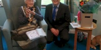 centenarian-receives-bespoke-coin-from-mayor-of-causeway-coast-and-glens-borough-council