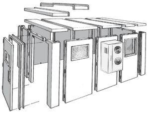 Bally Modular Structures  Bally WalkIn Cooler & Freezer