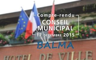Conseil municipal Balma