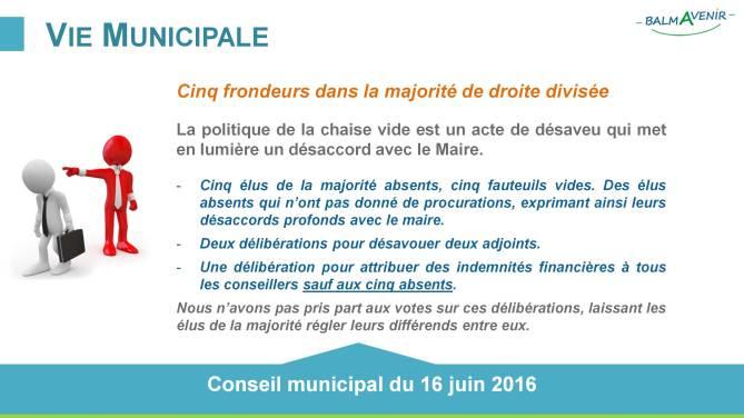 BalmAvenir - Conseil municipal du 16 juin 2016 - Diapo2