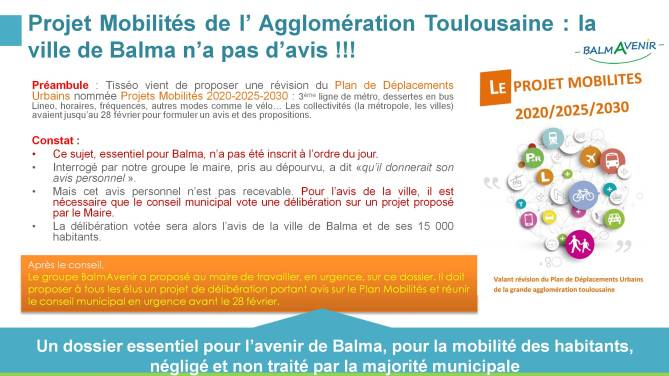 BalmAvenir - Conseil municipal du 23 février 2017 - Diapo 7