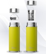 Green Qwetch Insulated Stainless Steel tea mug - 300ml