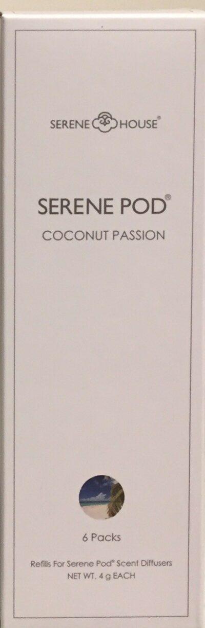Coconut Passion Serene Pod 6x4gr