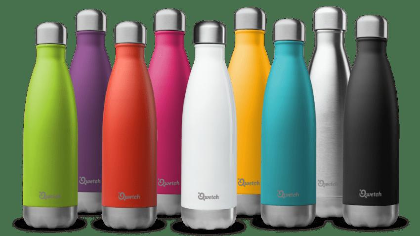 Qwetch full colours bottles banner