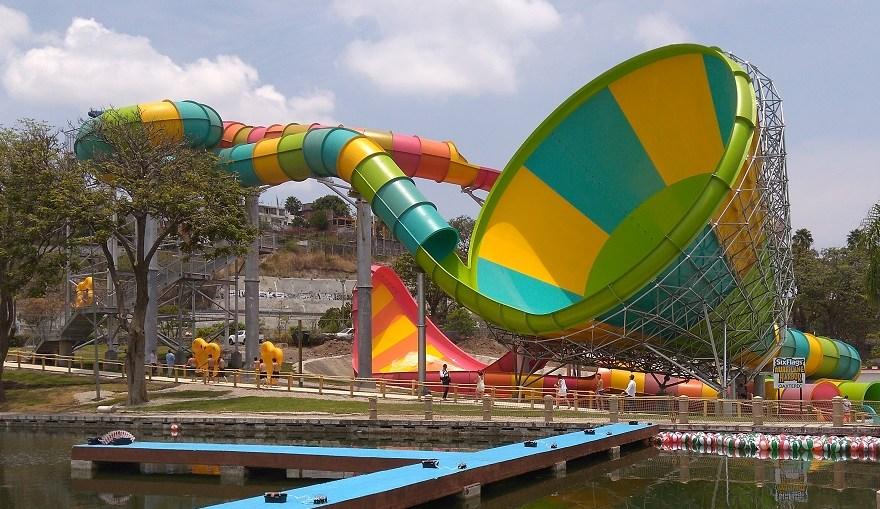 Inauguración Six Flags Oaxtepec Morelos